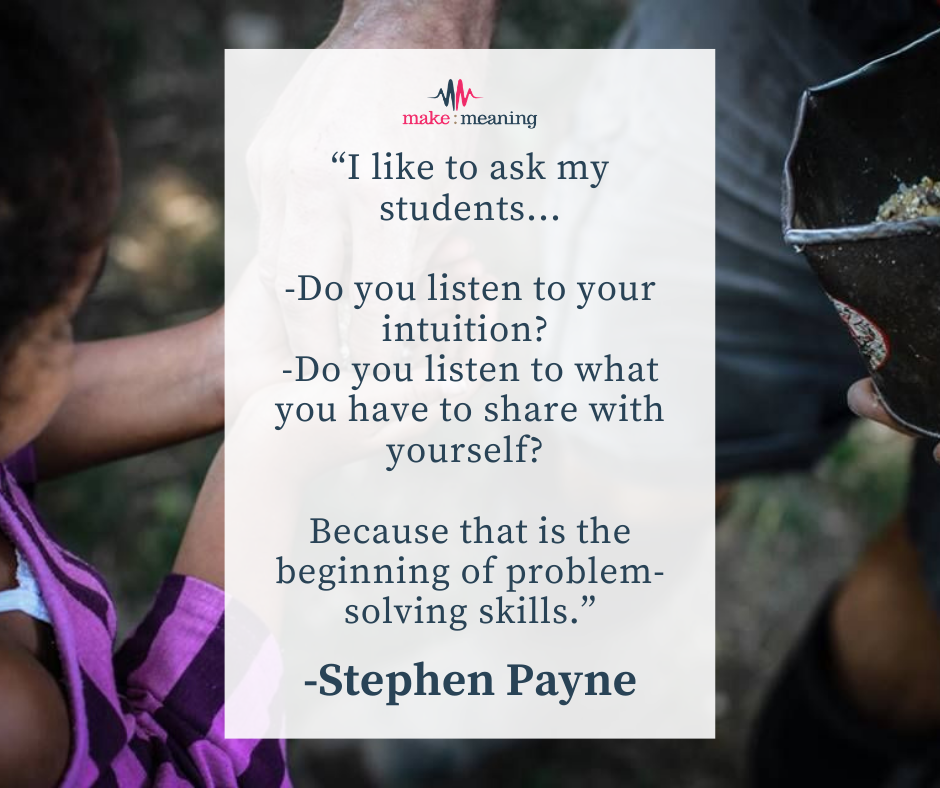 Stephen Payne Learning Quote