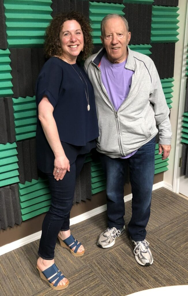Lynne Golodner and Norman Cohn on the make meaning podcast
